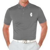 Callaway Opti Vent Steel Grey Polo-IC Athletic Logo