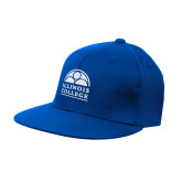 Royal OttoFlex Flat Bill Pro Style Hat-Collegiate Logo Vertical