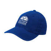 Royal OttoFlex Unstructured Low Profile Hat-Collegiate Logo Vertical