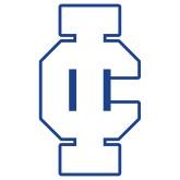 Extra Large Magnet-IC Athletic Logo