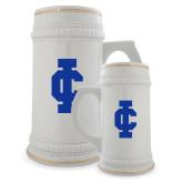 Full Color Decorative Ceramic Mug 22oz-IC Athletic Logo