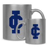 Full Color Silver Metallic Mug 11oz-IC Athletic Logo