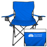 Deluxe Royal Captains Chair-Collegiate Logo Horizontal