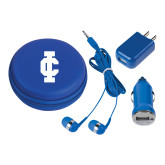 3 in 1 Royal Audio Travel Kit-IC Athletic Logo