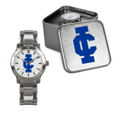 Mens Stainless Steel Fashion Watch-IC Athletic Logo