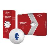 Callaway Chrome Soft Golf Balls 12/pkg-IC Athletic Logo