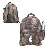 Heritage Supply Camo Computer Backpack-IC Athletic Logo