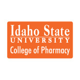 Small Decal-Idaho State University College Pharmacy, 6 inches wide