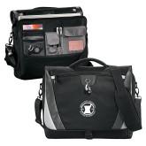 Slope Black/Grey Compu Messenger Bag-Pharmacy Seal