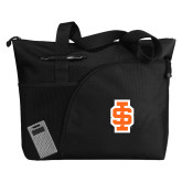 Excel Black Sport Utility Tote-Interlocking IS - 2 Color