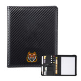 Carbon Fiber Tech Padfolio-Bengal Head
