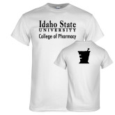 White T Shirt-Idaho State University College Pharmacy