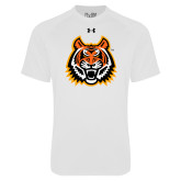 Under Armour White Tech Tee-Bengal Head
