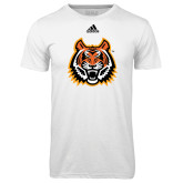 Adidas Climalite White Ultimate Performance Tee-Bengal Head