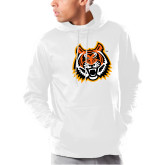 Under Armour White Armour Fleece Hoodie-Bengal Head