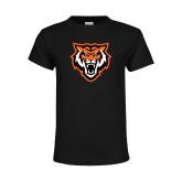Youth Black T Shirt-Primary Athletics Mark
