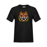 Youth Black T Shirt-Bengal Head
