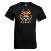 Black T Shirt-Soccer