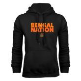 Black Fleece Hoodie-Bengal Nation