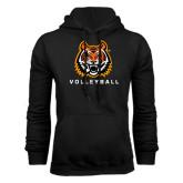 Black Fleece Hood-Volleyball