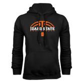 Black Fleece Hoodie-Basketball Ball Design