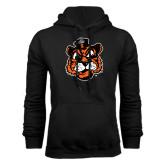 Black Fleece Hoodie-Vintage Mascot Head