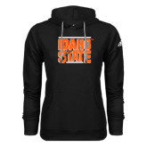 Adidas Climawarm Black Team Issue Hoodie-Idaho State Block