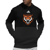 Adidas Black Team Issue Hoodie-Primary Athletics Mark