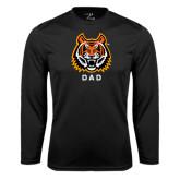 Syntrel Performance Black Longsleeve Shirt-Dad