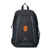 Impulse Black Backpack-Interlocking IS