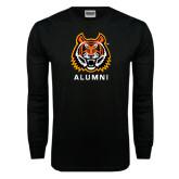 Black Long Sleeve TShirt-Alumni