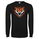 Black Long Sleeve T Shirt-Primary Athletics Mark