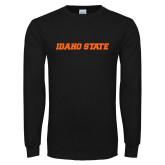 Black Long Sleeve T Shirt-Idaho State