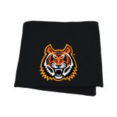 Black Sweatshirt Blanket-Bengal Head