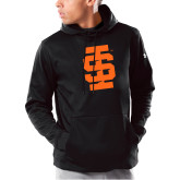 Under Armour Black Armour Fleece Hoodie-Interlocking IS - One Color