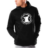 Under Armour Black Armour Fleece Hoodie-Pharmacy Seal