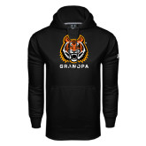 Under Armour Black Performance Sweats Team Hood-Grandpa