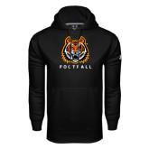Under Armour Black Performance Sweats Team Hoodie-Football