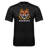 Syntrel Performance Black Tee-Grandpa