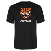 Performance Black Tee-Football