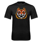 Syntrel Performance Black Tee-Bengal Head