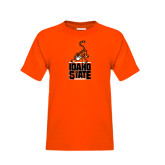 Youth Orange T Shirt-Baby Bengal Stacked