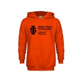 Youth Orange Fleece Hoodie-College of Pharmacy