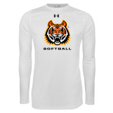 Under Armour White Long Sleeve Tech Tee-Sport 4
