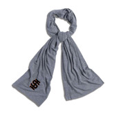 Grey Eco Jersey Bundle Up Scarf-Interlocking IS