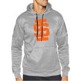 Adidas Grey Team Issue Hoodie-Interlocking IS - One Color