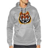 Adidas Grey Team Issue Hoodie-Bengal Head