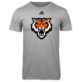 Adidas Climalite Sport Grey Ultimate Performance Tee-Primary Athletics Mark