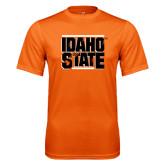 Performance Orange Tee-Idaho State Block