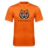 Performance Orange Tee-Football
